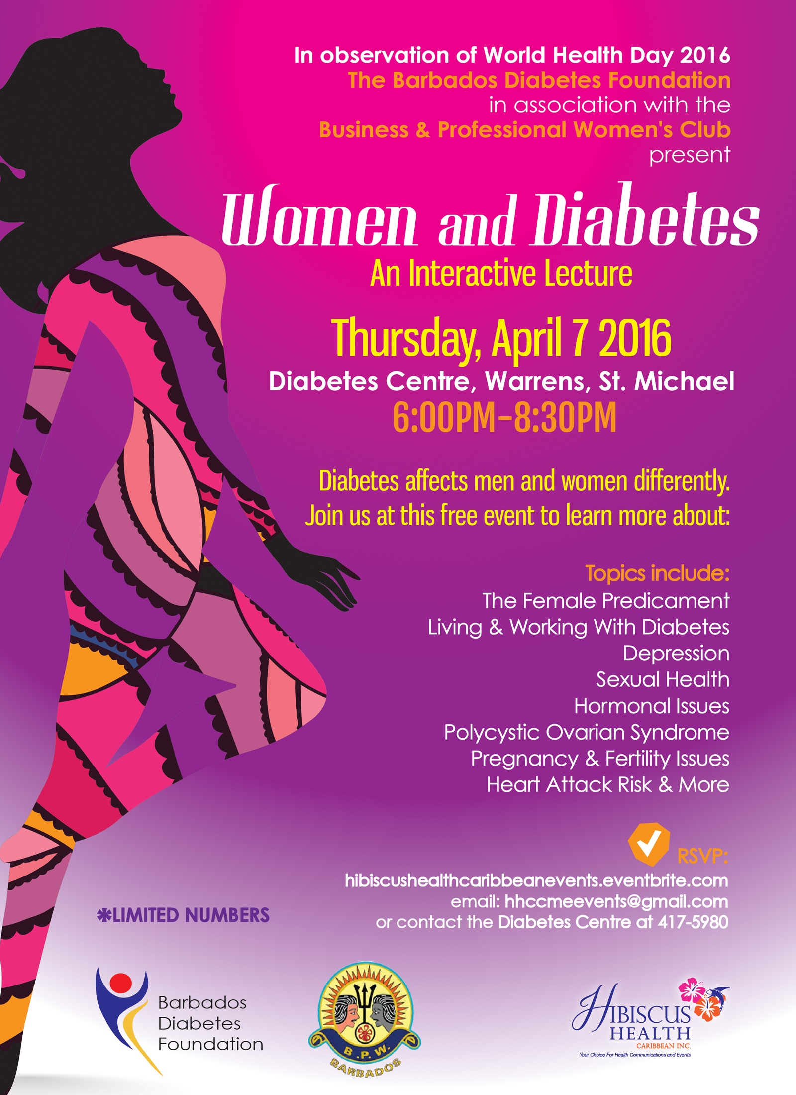 Womwn Diabetes Series 1 Flyer