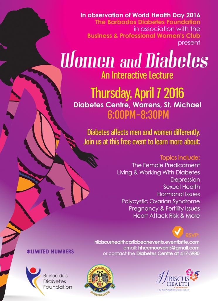 Womwn & Diabetes_Series 1_Flyer