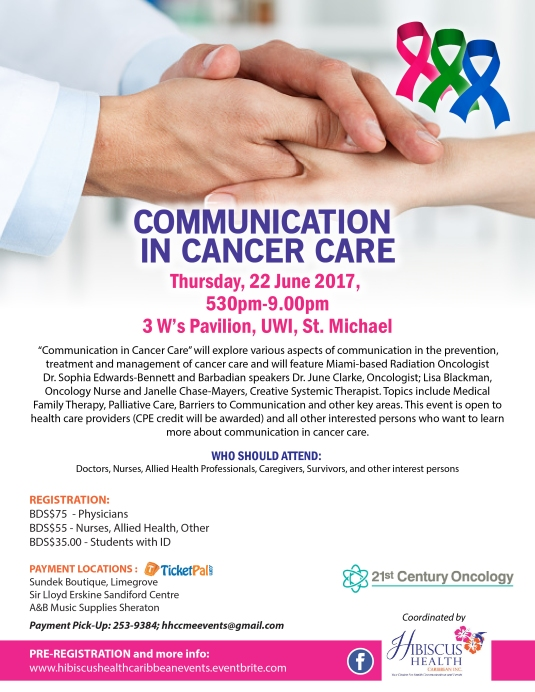 Communication In Cancer Care Flyer (1)