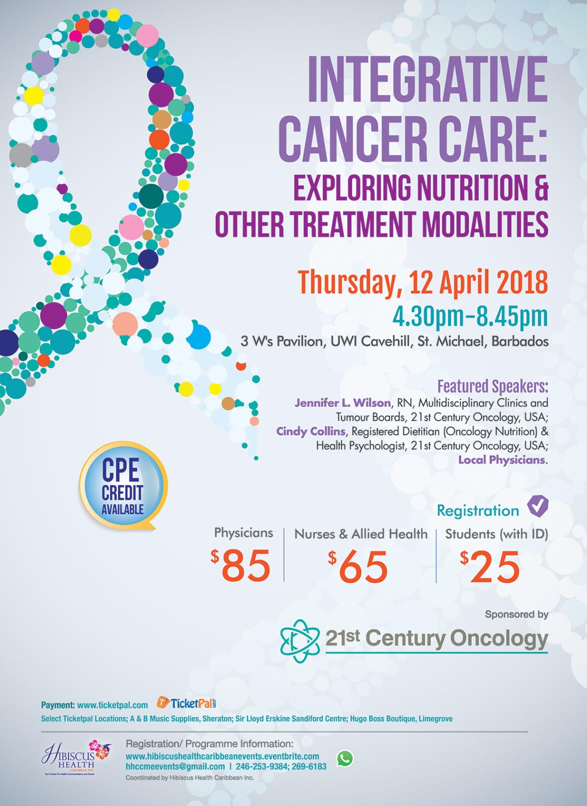 Considerations in Cancer Care-Flyer 2018