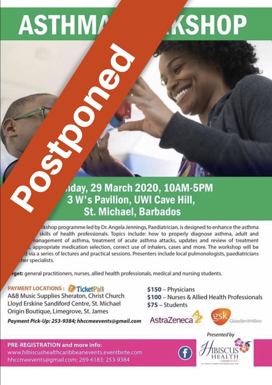 asthma postponed